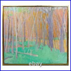 Wolf Kahn, German/American (b. 1927) Oil On Canvas Fallen Branch 1997